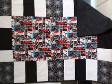 WOW...SPIDERMAN Superhero Crib/Toddler bed size quilt for your little Superhero
