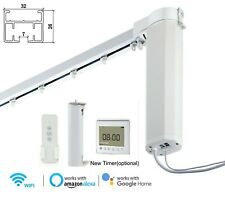 Made to Measure Motorized Curtains System Smart Curtain System Alexa Google Home