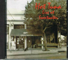 HOT Tuna-Live at Sweetwater/Castle Records CD 1993 (ccrcd 115)