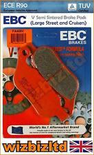 EBC Trasero Semisintered Vee Pastillas de Freno Harley Davidson FXSB Breakout 15