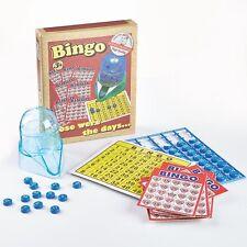 Classic Retro Bingo Game 2 or More Players D21003