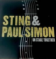 PAUL SIMON & STING 2015 ON STAGE TOGETHER TOUR CONCERT PROGRAM BOOK / NMT 2 MINT