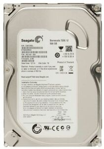 "Seagate 500Gb HDD PC/Desktop 3.5"" SATA Hard Disk Drive Drive ST500DM002 BARGAIN"