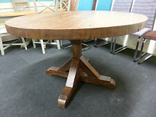 Solid Wood Round Farmhouse Kitchen & Dining Tables