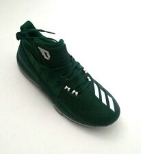 size 40 75c0c 62633 Adidas Men Dame 3 BY3194 Green Basketball Shoes NBA Size 11 12