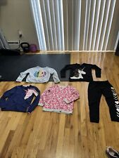 Lot of girls sweaters sz 7/8 justice, Cat&Jack