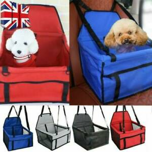 Folding Pet Dog Car Seat Safe Handbag Cat Puppy Travel Carrier Bed Bag Basket