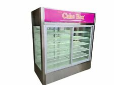 More details for custom made pass-through display fridge remote sliding door refrigerated cabinet