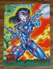 1995 Fleer Ultra X-MEN X-Force DOMINO Team Card #115