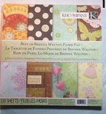 K & Company Best of Brenda Walton Paper Pad 150 sheets 3.5 lbs of paper