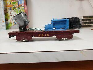O Scale Marx Erie Flatcar W/ Light