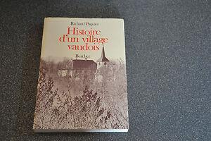 Histoire d'un village vaudois, Richard Paquier (H2)