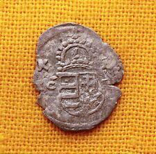 MEDIEVAL HABSBURG COIN - II. MATHIAS SILVER OBOL -1613 RR! MADONNA WITH JESUS