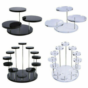 Cupcake Holder Acrylic Display Stand For Jewelry Cake Dessert Rack Party Decor