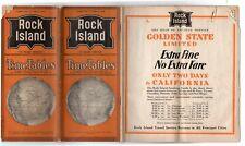 Chicago Rock Island & Pacific CRI&P Public Timetable PTT June 9, 1929