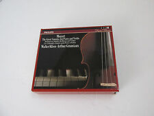 Mozart: The Great Sonatas for Piano and Violin (CD, 4 Discs, Philips) EUC