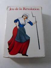 jeu de cartes DE LA REVOLUTION , baptiste paul grimaud  (cpnb1)