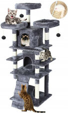 New listing Cat Tree Tower Condo Furniture Scratching Post Pet Kitty Play House W/ Ladder Us