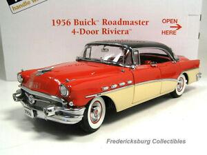 DANBURY MINT 1956 BUICK ROADMASTER RIVIERA 4 DOOR HARDTOP - MIB W/ PAPERS