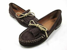 LUCKY BRAND FOOTWEAR, PENNA MOCCASSIN, WOMENS, TOBACCO, US SIZE 7 M, NEW W/O BOX