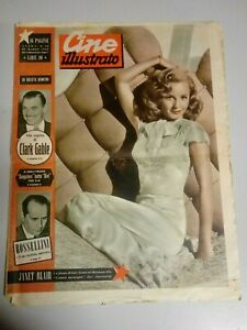 Giornale Cine Illustrato 20 Marzo 1949  n°12 Janet Blair Esther Williams