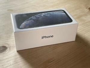 Apple iPhone XR - 64GB - Black Unlocked A2105 4G - Pristine - Unopened