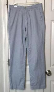 Polo Ralph Lauren Men's Seersucker Dress Pants 30 x 32