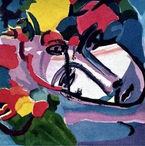 Sandro CHIA, Acquatinta, arte moderna contemporanea,Transavanguardia