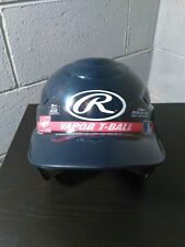 Rawlings Vapor Navy Blue T-Ball Helmet Fits 6 1/4 - 6 7/8 New Free Shipping!!