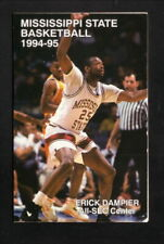 Erick Dampier--Mississippi State Bulldogs--1994-95 Basketball Pocket Schedule