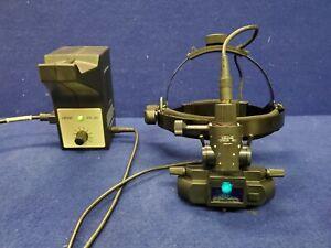 Heine Omega 180 Binocular Indirect Ophthalmoscope w/ EN-30 Power Supply