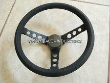 "GRANT 338 UNIVERSAL 3 SPOKE STEERING WHEEL 13.5"" FORD CHEVY DODGE HOT RAT ROD MG"