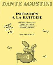 Dante Agostini Initiation A La Batterie, Sheet Music- Drums - 9790707005002