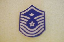 US USA USAF Air Force E-8 Senior Master Sergeant Military Hat Lapel Pin