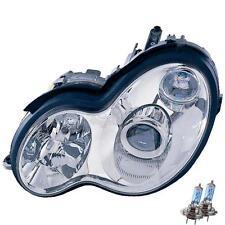 Headlight Set MERCEDES C CLASS W203 Built 00-04 CLEAR Looks 04 H7 +H7 1100813