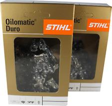 2 STIHL Sägekette RD Rapid Duro Hartmetall 325-76-1,5 für 50cm Brast BRB-KS-5202