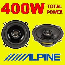 """Potenza totale ALPINE 400 W 2WAY 13cm/5.25"""" SXE/SXV Auto/Furgone Altoparlanti Porta Scaffale"""