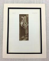 1927 Antico Stampa la Vergine San Joseph Presso Betlemme Old Master Jan Provost