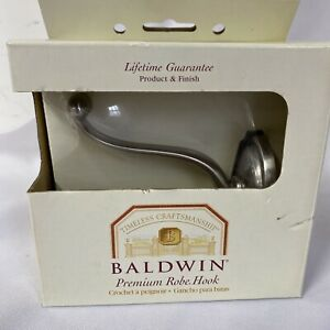 Baldwin Champlain 3865-150 Satin Nickel Robe Hook