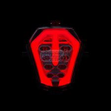 SUZUKI  GSX-R 1000R 2017 18-2020 LED INTEGRATED TAIL LIGHT INDICATORS SMOKE +++