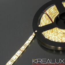 B015 striscia LED strip 300 smd 5050 luce CALDA IP65 5MT 72W 12V