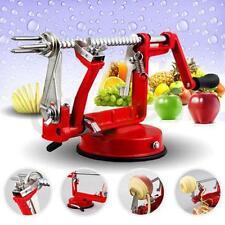 3 in 1 Apple Slinky Machine Peeler Potato Fruit Cutter Slicer Kitchen Tool New