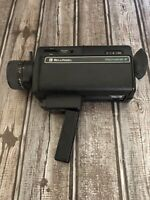 Vtg Bell & Howell Microstar Z Movie Camera Untested No Corrosion Clean. 8mm