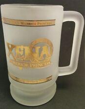 XENA Warrior Princess GLASS MUG 1997 Rare
