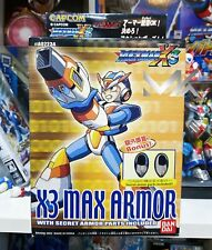 2003 MEGAMAN ROCKMAN X3 MAX ARMOR Including Bonus Parts BANDAI - NEW IN BOX