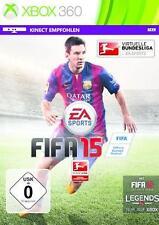 Xbox 360 FIFA 15 Fussball Deutsch GuterZust.