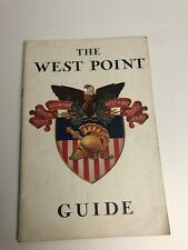 The West Point Guide Book & Map - 1965 - Military