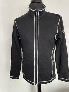 Mens Black Helly Hansen Work Wear Full Zip Fleece Size Medium
