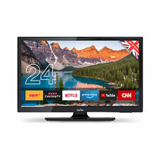 """Cello 12V 24"""" Inch HD Ready LED Smart TV with Google Play Store and Freeview HD"""