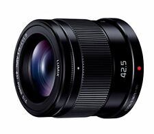 New Panasonic LUMIX G 42.5mm F1.7 ASPH POWER OIS Black H-HS043 Lens Japan Model